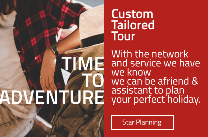 Custom Tailored Tour